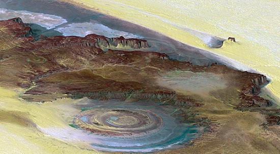 Richat structure images