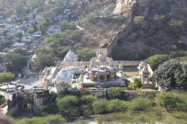Royal Gaitor Tumbas view from  garh ganesh temple