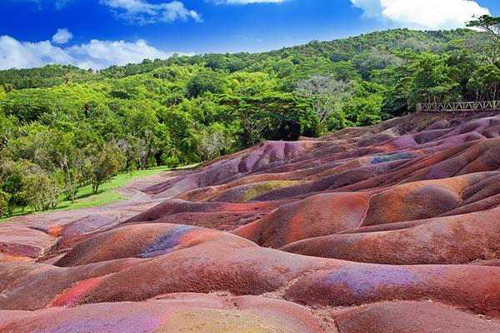 Seven Coloured Earth  of Chamarel mauritius