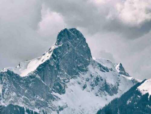 Trishul Mountain Range