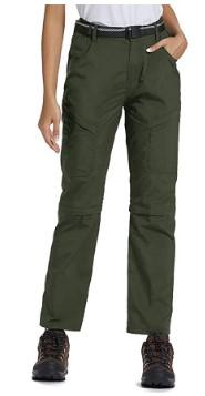 Women's Plus Size Zip-Off Cargo Pants