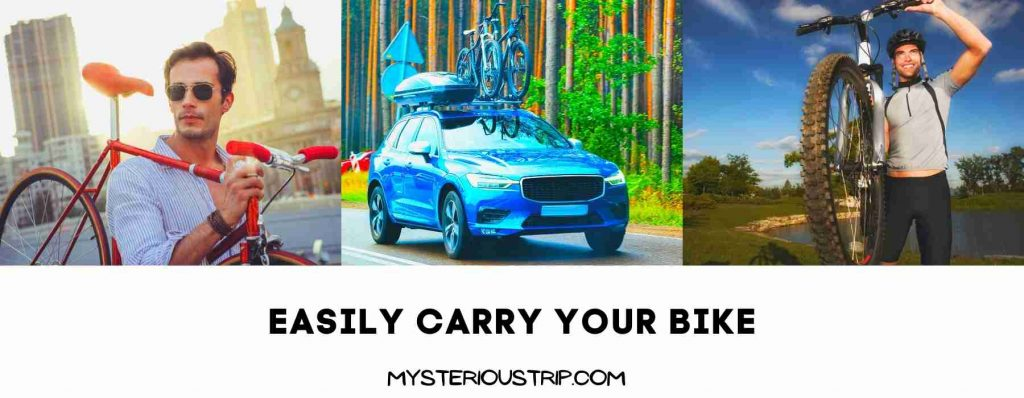 Easily Carry Your Bike